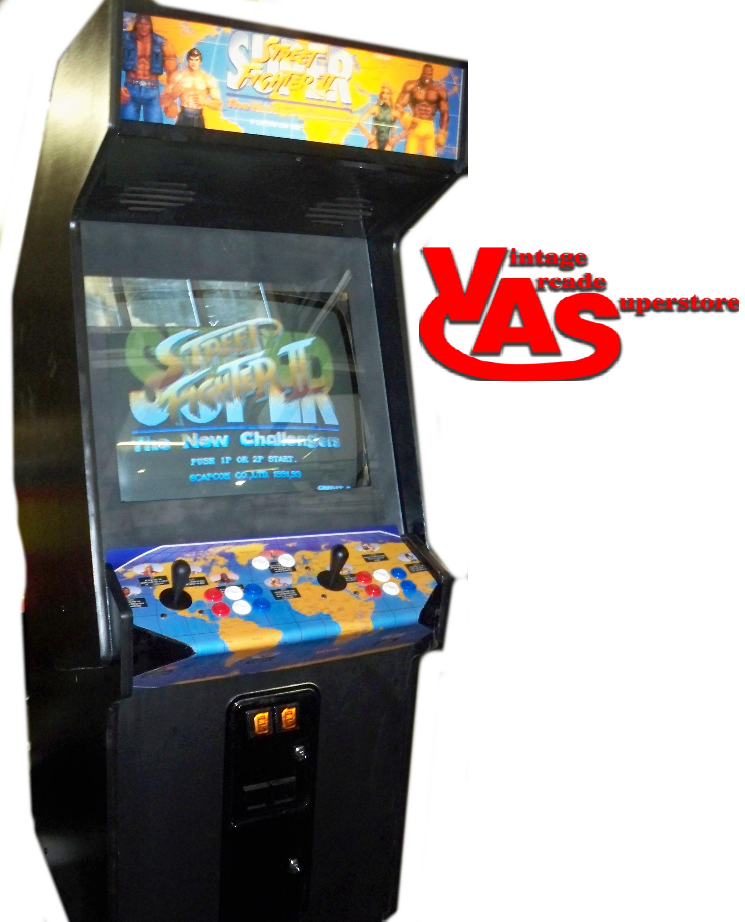 Super Street Fighter 2 Arcade Game For Sale Vintage