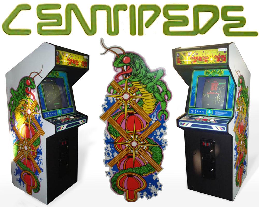 Pleasing Centipede Arcade Game Machine Original Cabinet Art Touch Up Download Free Architecture Designs Rallybritishbridgeorg