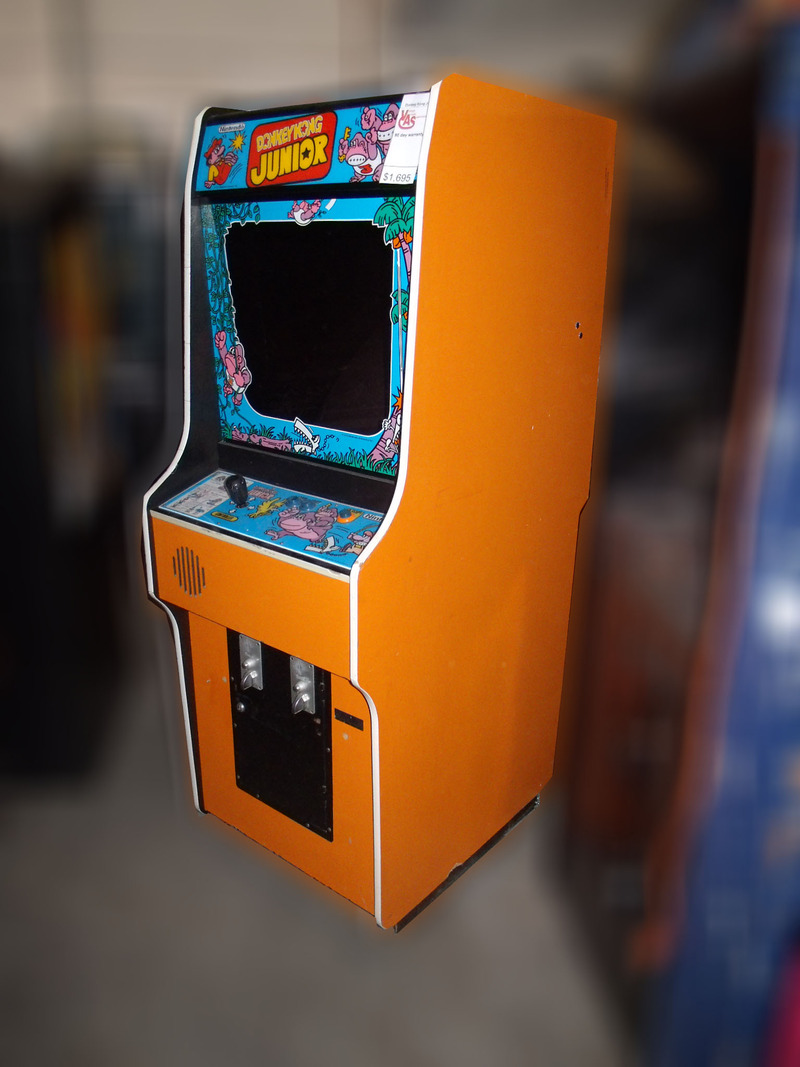 Donkey Kong Jr Arcade Game For Sale Vintage Arcade