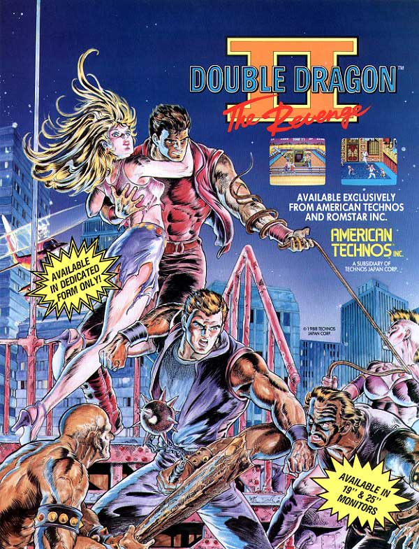 Double Dragon 2 Vintage Arcade Superstore