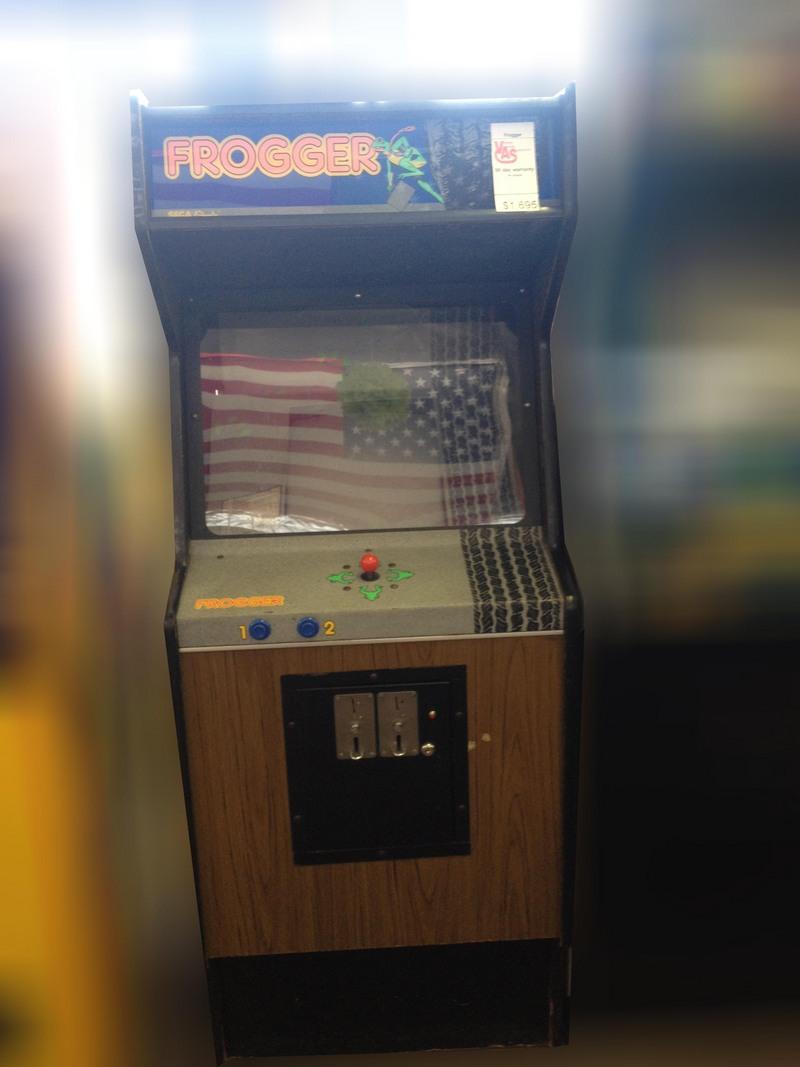Original Frogger Arcade For Sale Vintage Arcade Superstore