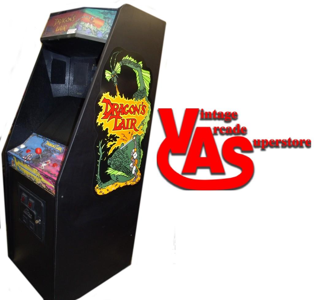 Dragon S Lair Vintage Arcade Superstore