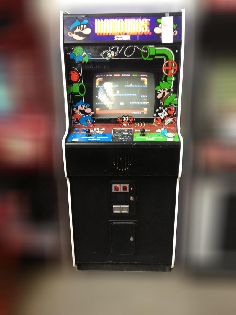 Mario Bros Arcade Game For Sale Vintage Arcade