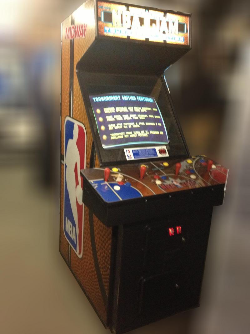 Nba Jam Arcade Game Vintage Arcade Superstore