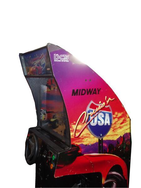 Cruis N Usa Arcade Game For Sale Vintage Arcade