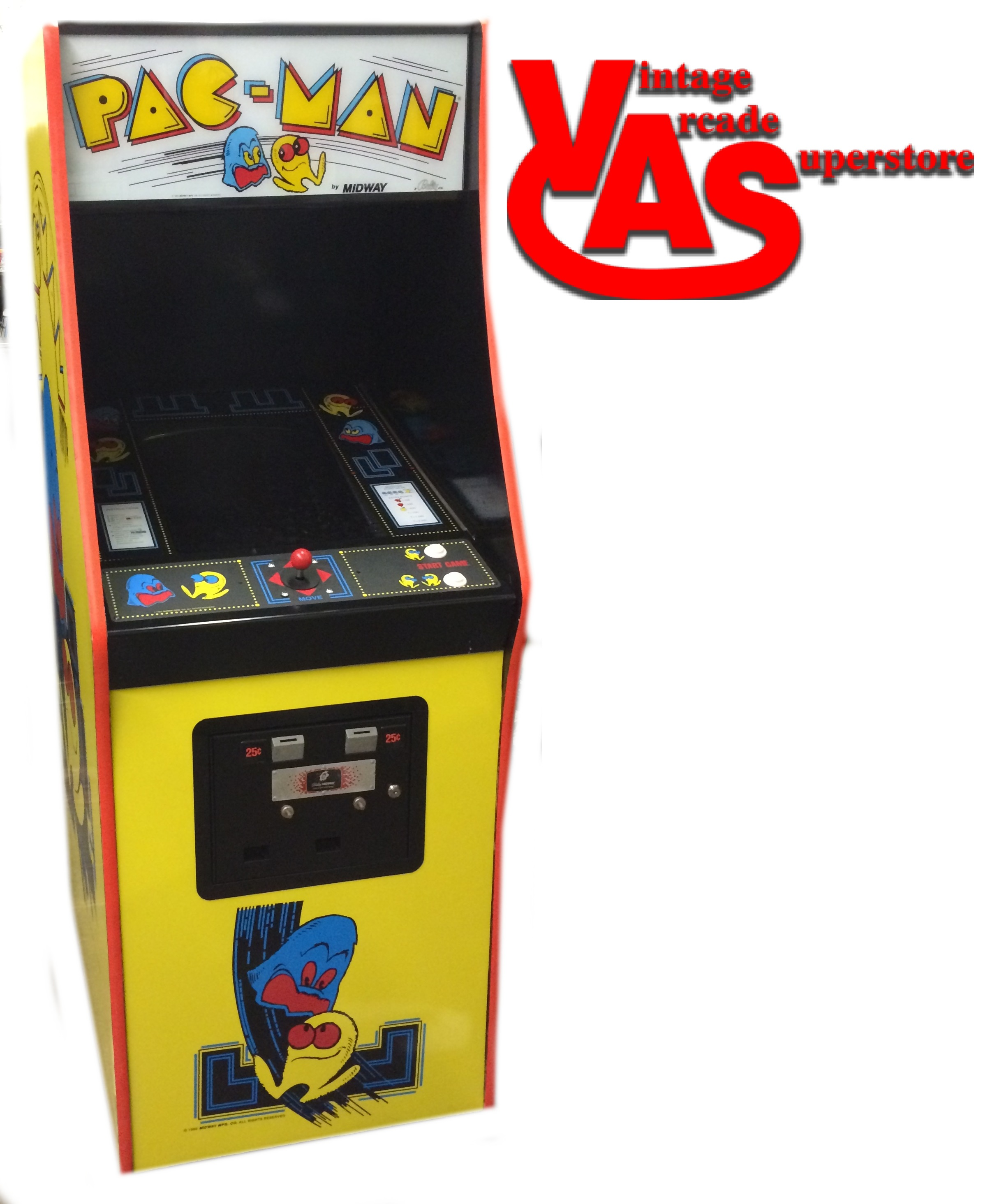 Image result for pacman video game machine