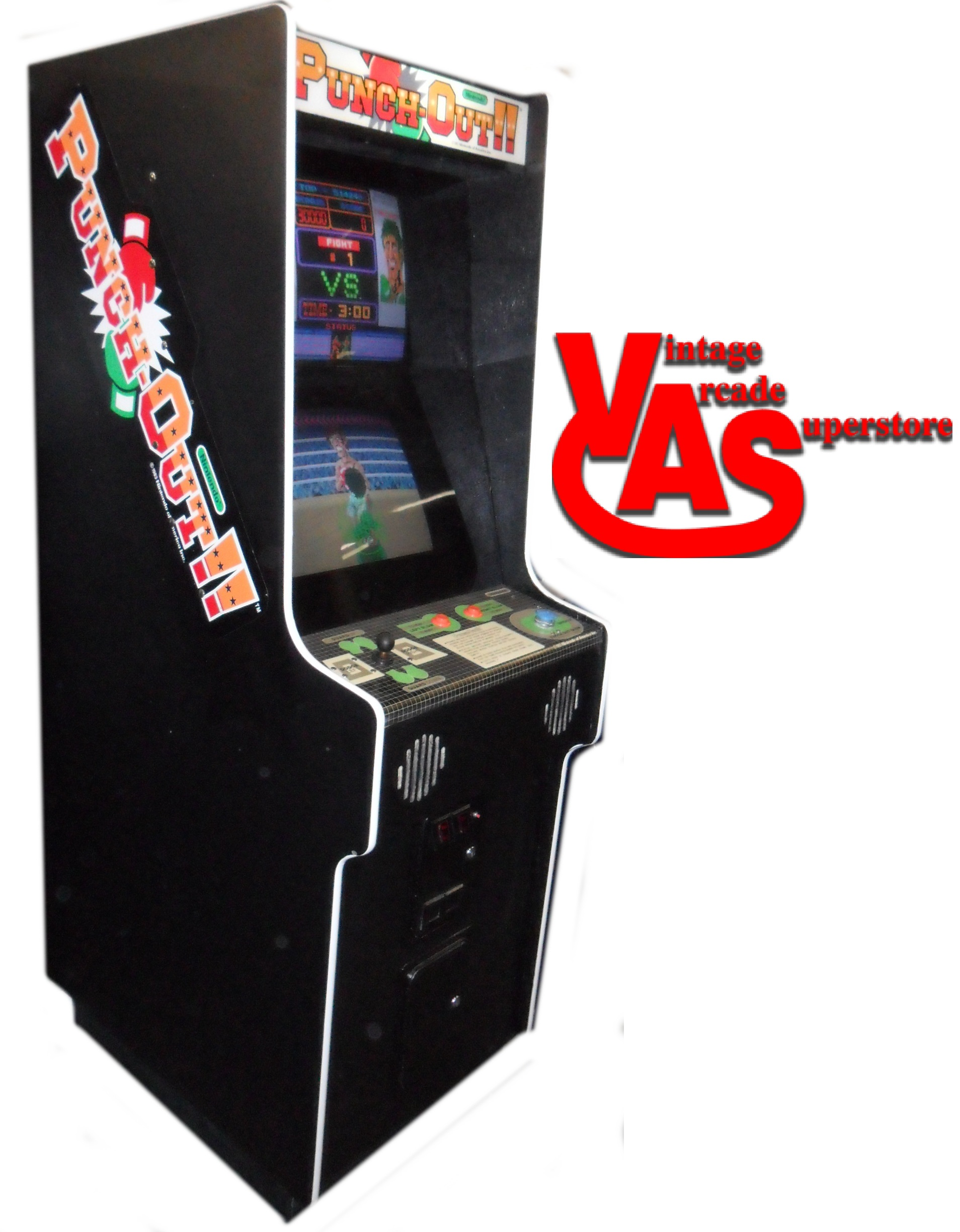 Punchout Arcade Game For Sale Vintage Arcade Superstore