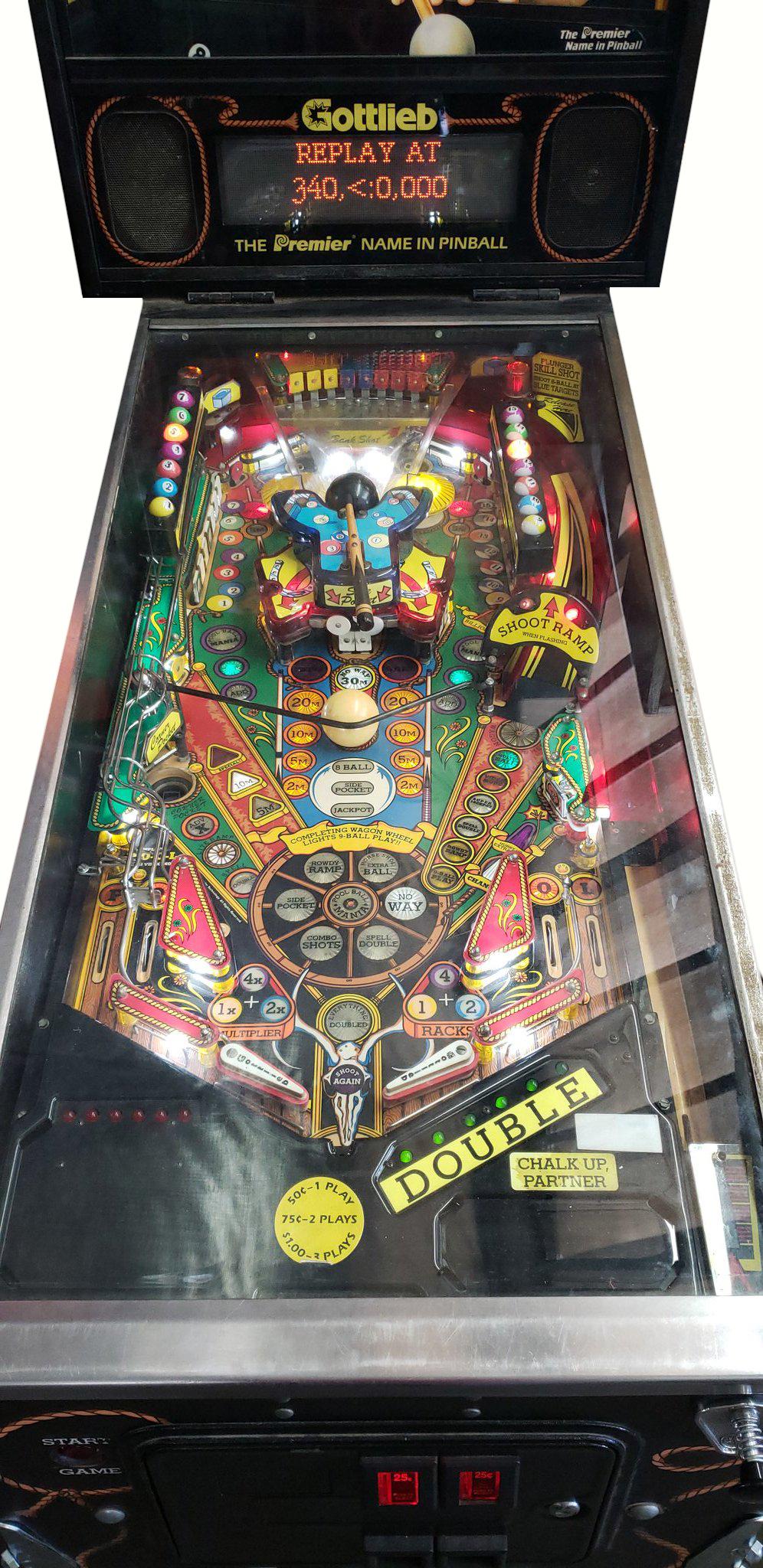 Cue Ball Wizard Pinball Machine Vintage Arcade Superstore