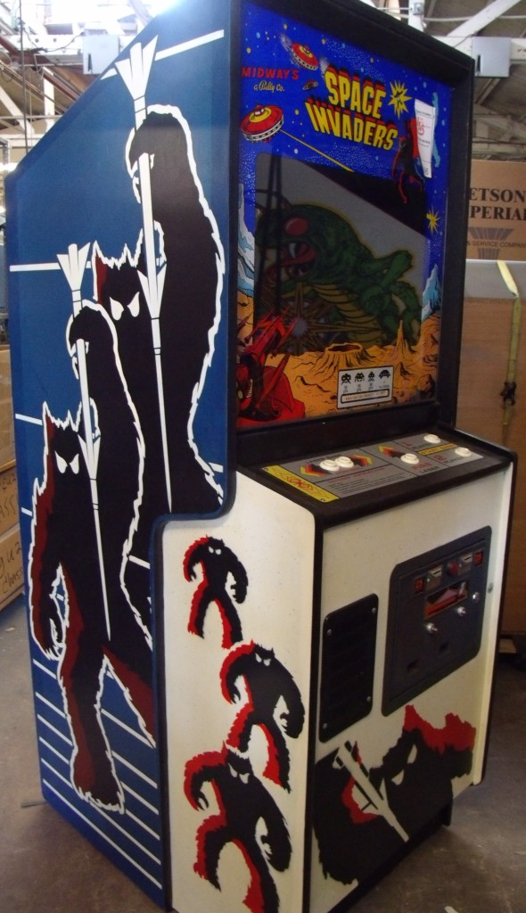 Space Invaders Arcade Game Vintage Arcade Superstore