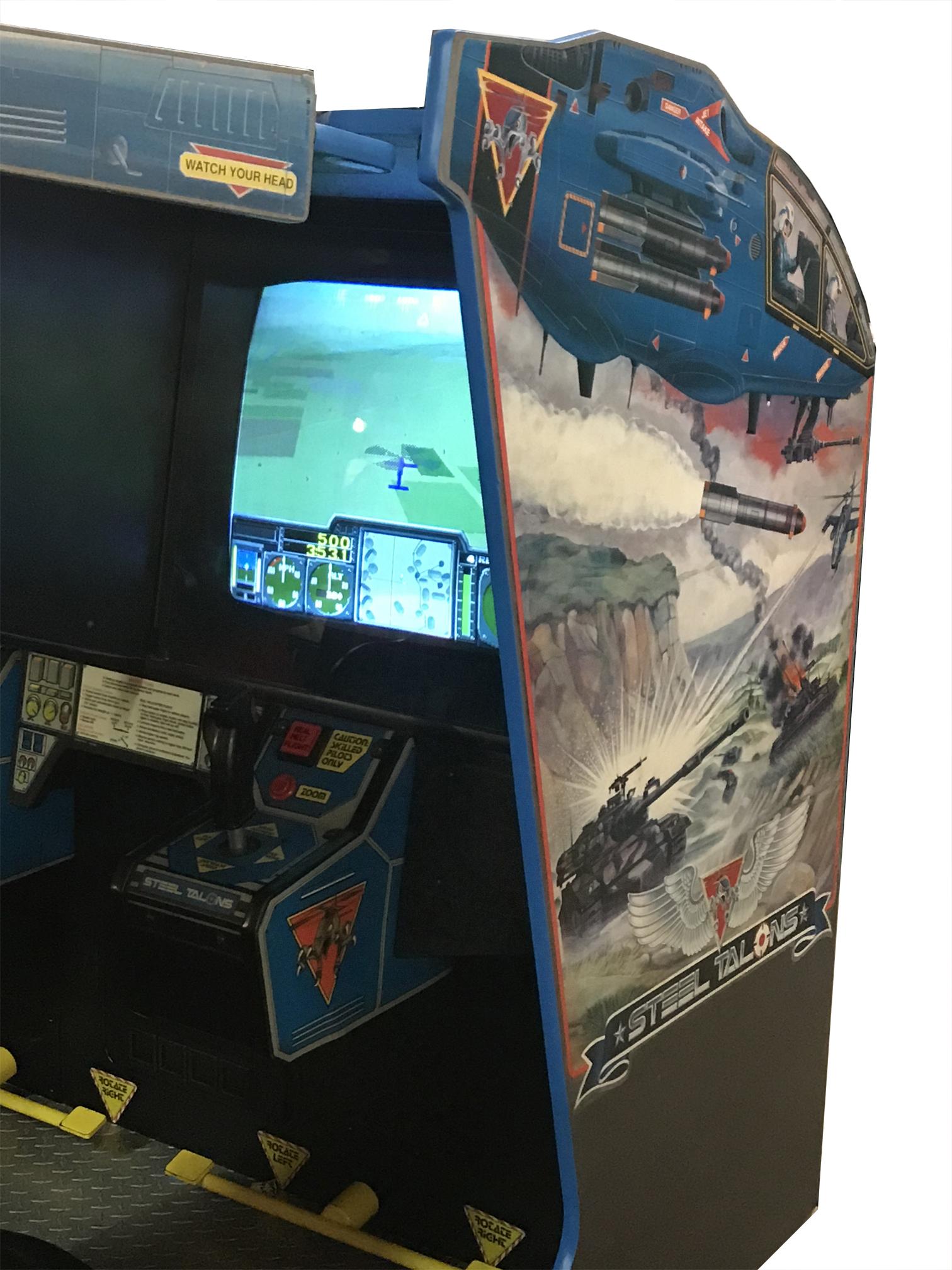 Steel Talons Arcade Game Vintage Arcade Superstore