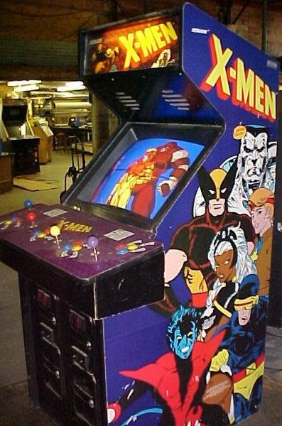 X Men Arcade Game Vintage Arcade Superstore