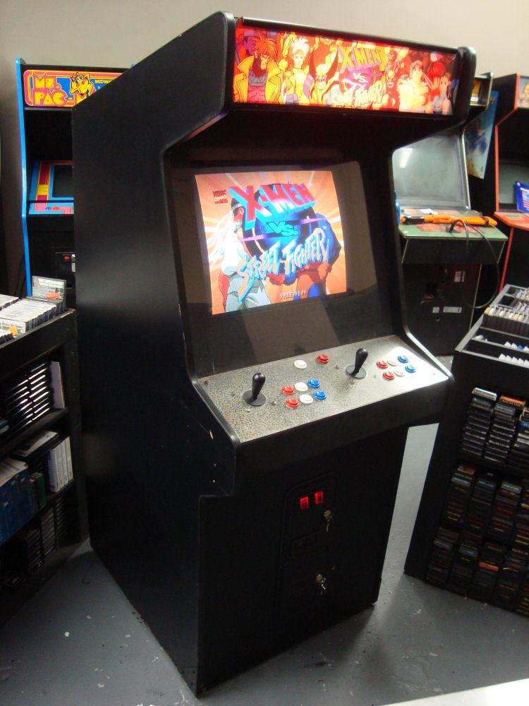 X Men Vs Street Fighter Vintage Arcade Superstore