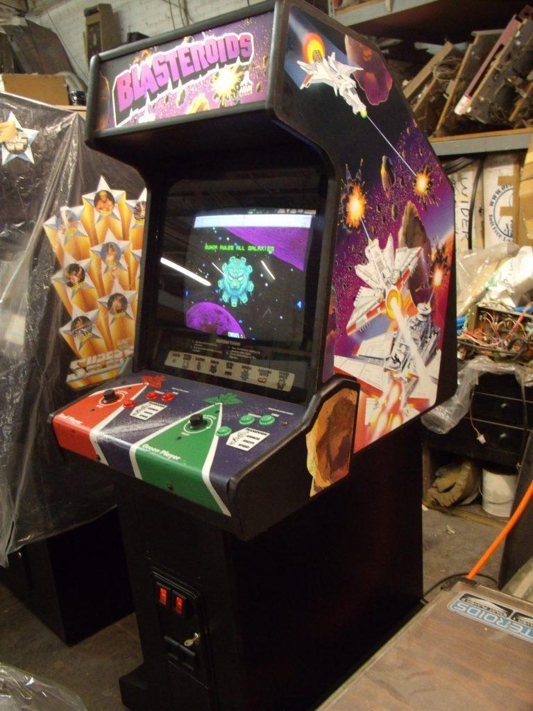 Blasteroids Arcade Game Vintage Arcade Superstore